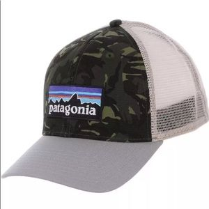 PATAGONIA Brand New With Tags P6 Logo CAMO Hat
